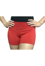 Body Wrappers Scarlet Boy-Cut Shorts
