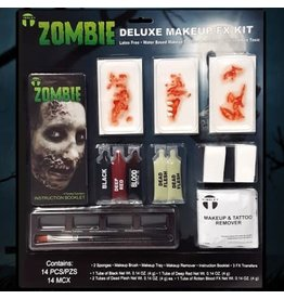Tinsley Transfers Deluxe Zombie Makeup FX Kit