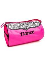Sassi Designs Zebra Dance Duffel