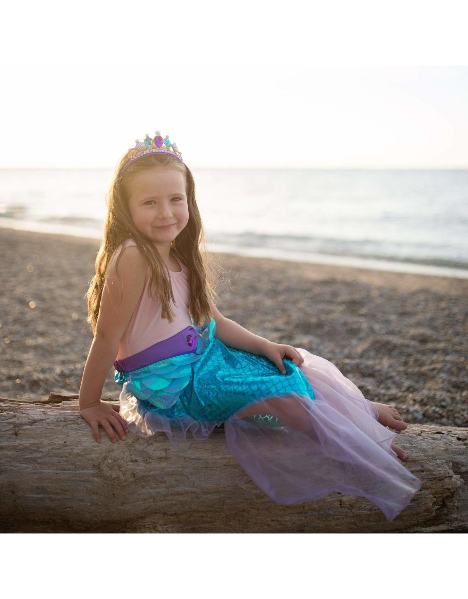 Great Pretenders Children's Mermaid Glimmer Skirt Set