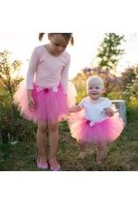 Great Pretenders Children's Dark Pink Rose Tutu
