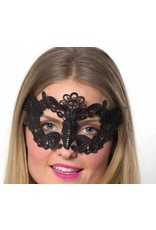 HM Smallwares Black Lace Mask