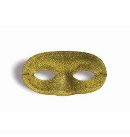 Forum Novelties Inc. Glitter Domino Mask - Gold