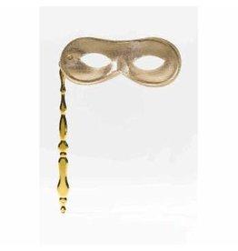 Forum Novelties Inc. Handheld Mask Gold