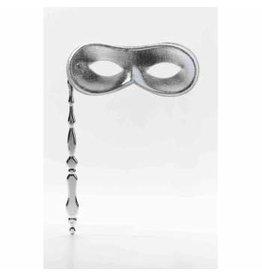 Forum Novelties Inc. Handheld Mask Silver