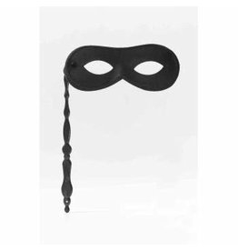Forum Novelties Inc. Handheld Mask Black