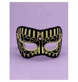 Forum Novelties Inc. Gold Stripe Mask