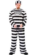 Fun World Jailbird Convict