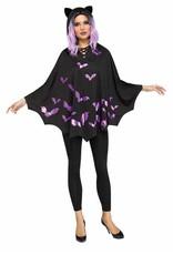 Fun World Hooded Bat Poncho
