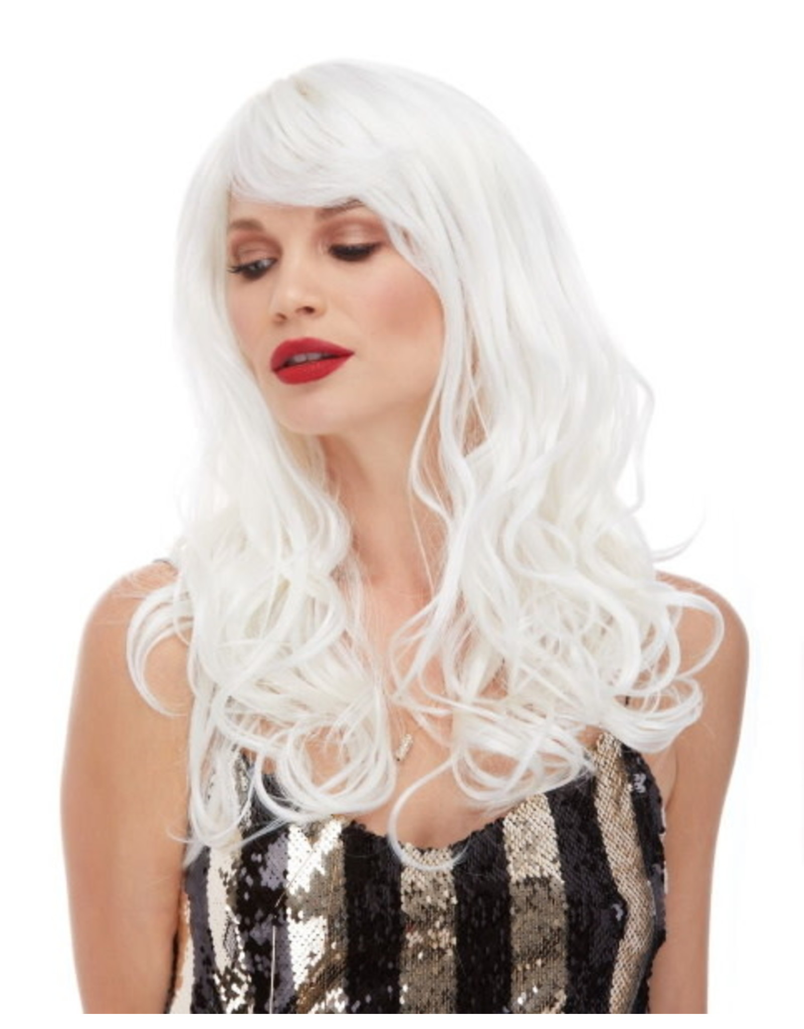 Westbay Wigs Burlesque Wig - Platinum White