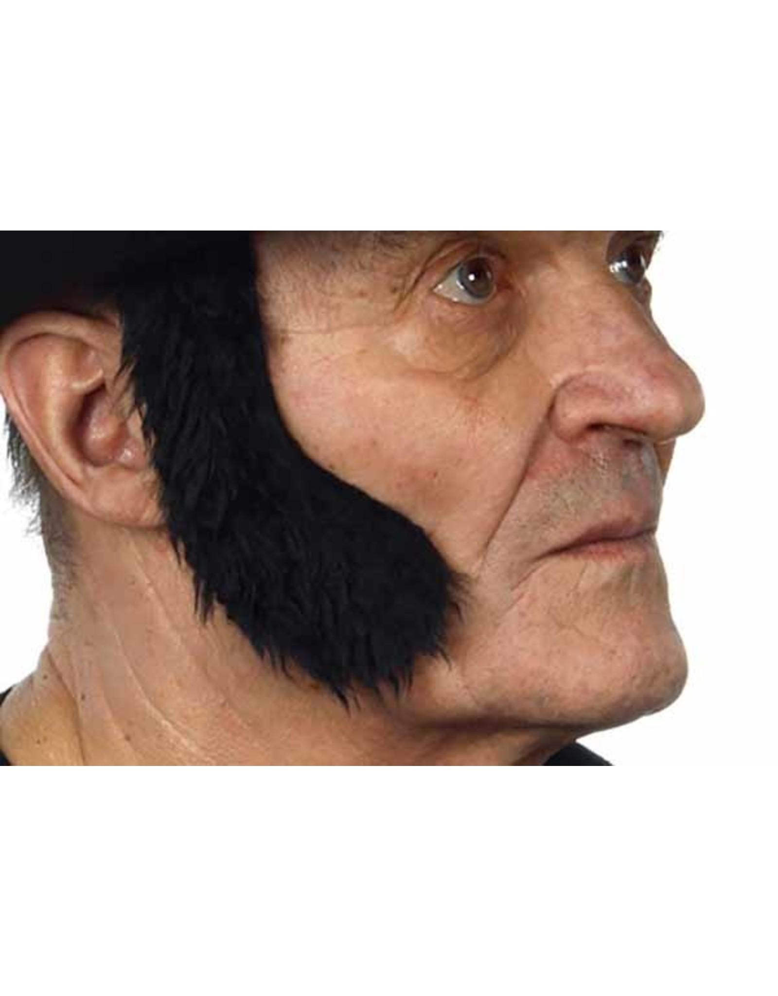 European Moustaches Sideburns