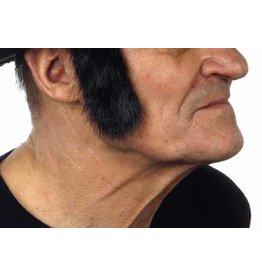 European Moustaches Sideburns Black