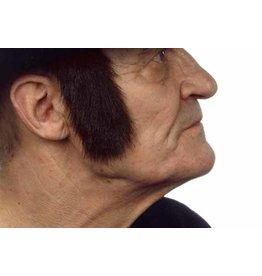 European Moustaches Sideburns Dark Brown