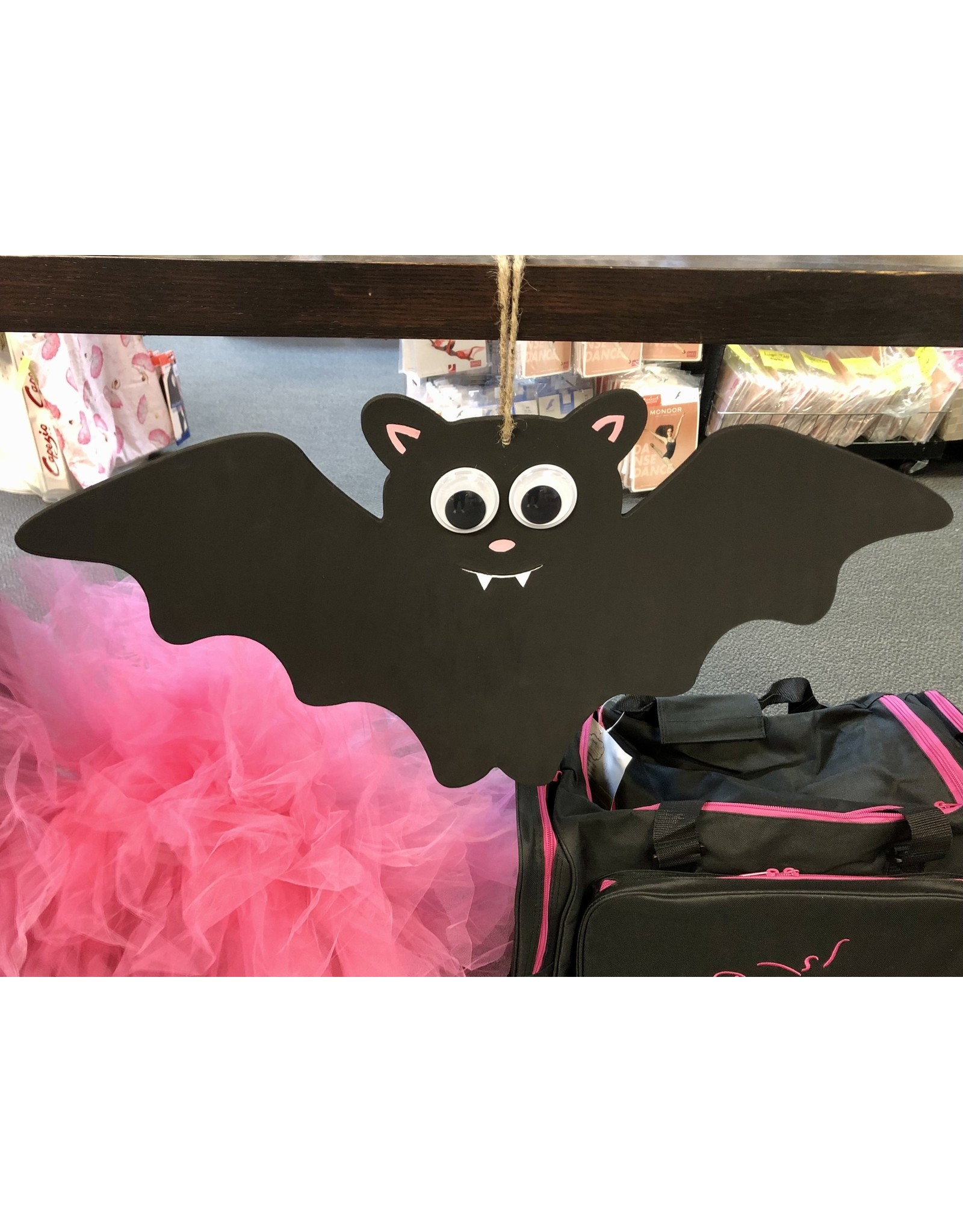 Diaper Cakes by Leah Hand Painted Bat Decoration