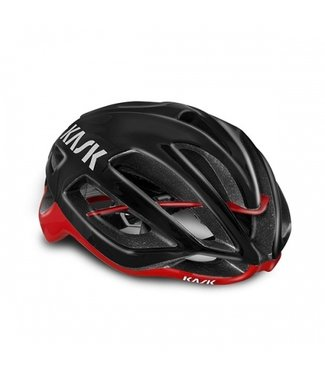 Kask PROTONE - Black/Red - Medium