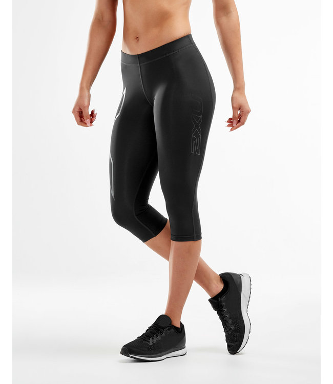 2XU 3/4 Length Compression Tights - Black/Nero