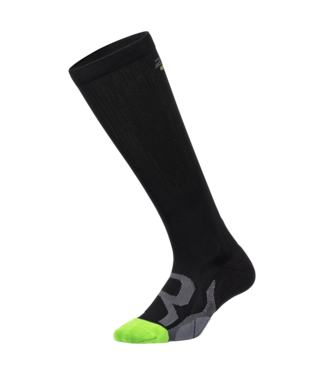 2XU Comp Socks for Recovery - BLK/GRY