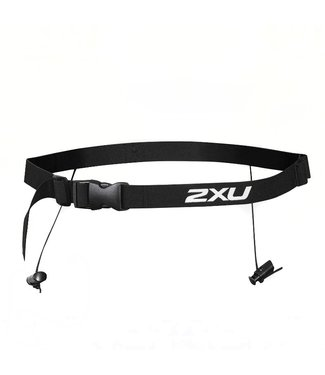 2XU Nutrition Race Belt - BLK/BLK