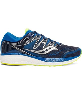 Saucony Hurricane ISO 5 Mens - Navy / Citron