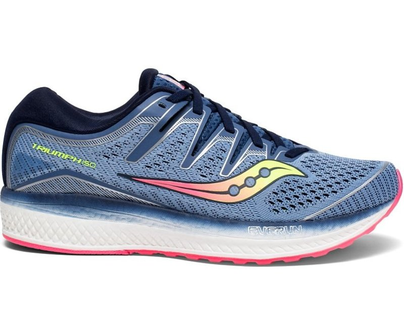 Saucony Triumph ISO 5 - Blue / Navy - Womens