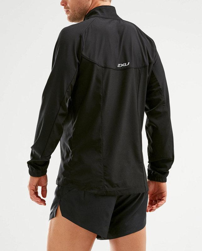 2XU XVENT Run Jacket Mens - BLK/BLK