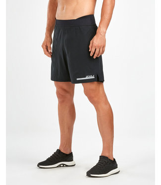 2XU Run 2 in 1 Comp 7 Shorts - BLK/SIL
