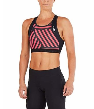 2XU Perform Tri Crop Womens - BLK/GMN