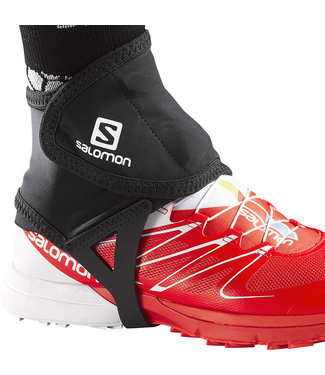Salomon Unisex Trail Gaiter Low Black M