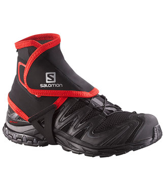 Salomon TRAIL GAITERS HIGH Black M