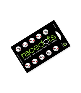 RaceDots 10-pack red-white-black