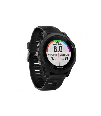 Garmin Garmin, Forerunner 935, Watch, WatchColor: Black/ Grey, Wristband: Black - Silicone,
