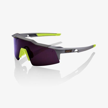 100% Speedcraft SL - Soft Tact Midnight Mauve Purple Lens