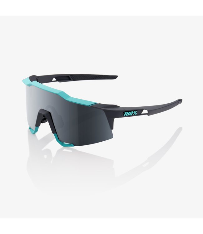 100% SPEEDCRAFT SOFT TACT CELESTE GREEN / CEMENT GREY W/ BLACK MI