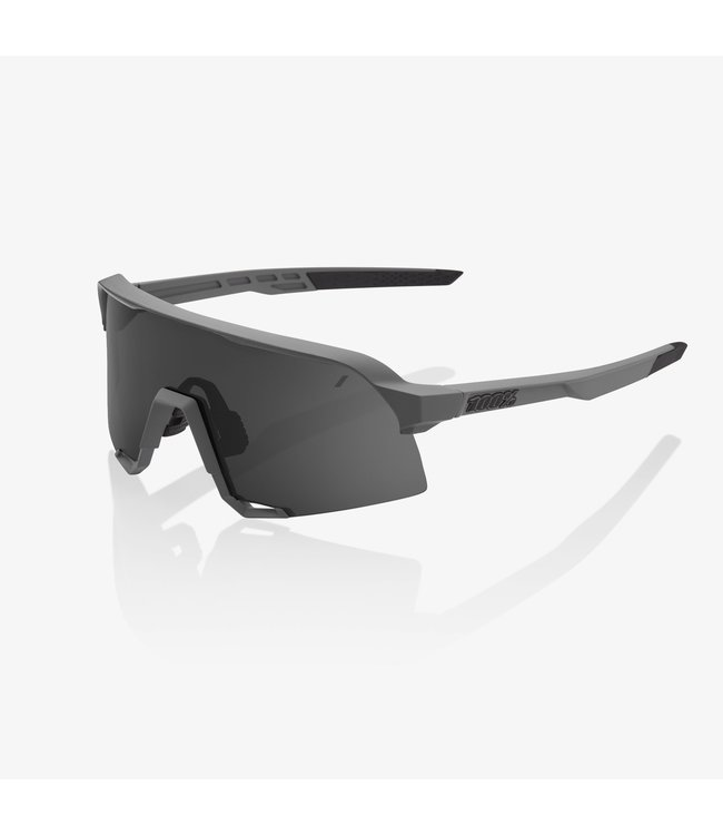 100% S3 - Soft Tact Grey Smoke Lens
