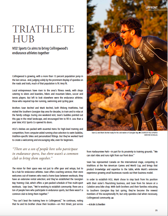 Triathlete Hub | Mountain Life Article