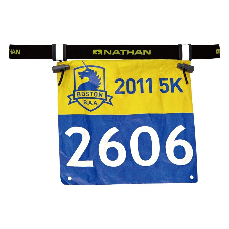 Nathan Race Number Belt Black