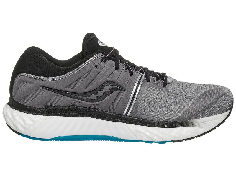 Saucony Hurricane 22 - GRY/BLK - Mens