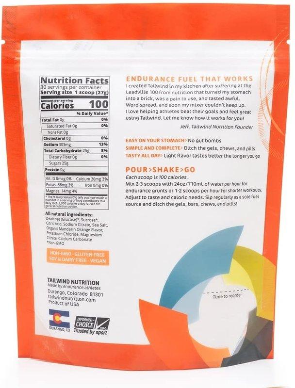 Tailwind Nutrition Endurance Fuel Orange