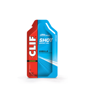 Clif Clif, Shot Energy Gels, Vanilla, 24pcs single