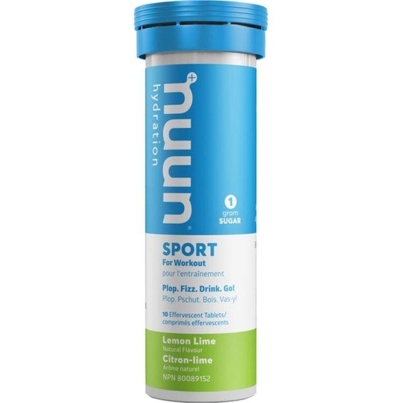 Nuun Nuun, Sport, Tablets, 8 tubes, Lemon Lime single