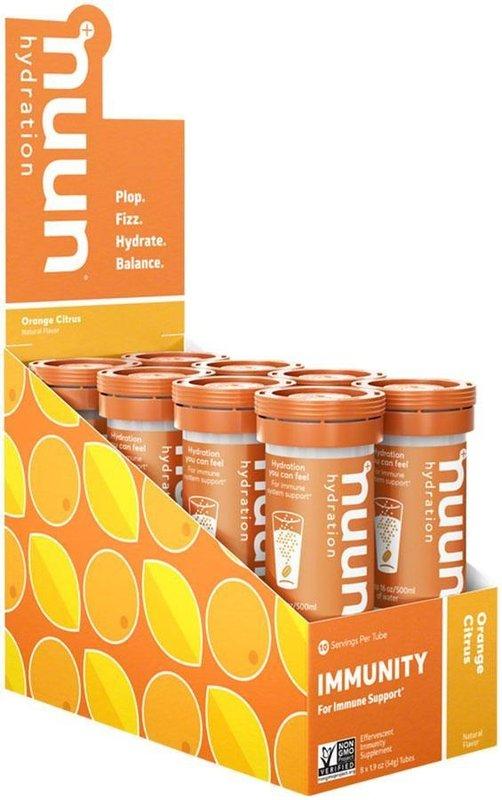 Nuun Nuun, Immunity, Drink Mix, Orange, 10 servings