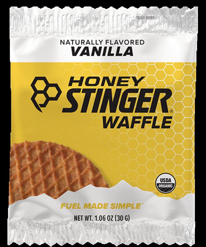 Honey Stinger Honey Stinger, Waffles, Box of 16 x 34g, Vanilla single