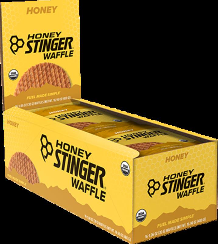 Honey Stinger Honey Stinger, Waffles, Box of 16 x 34g, Vanilla