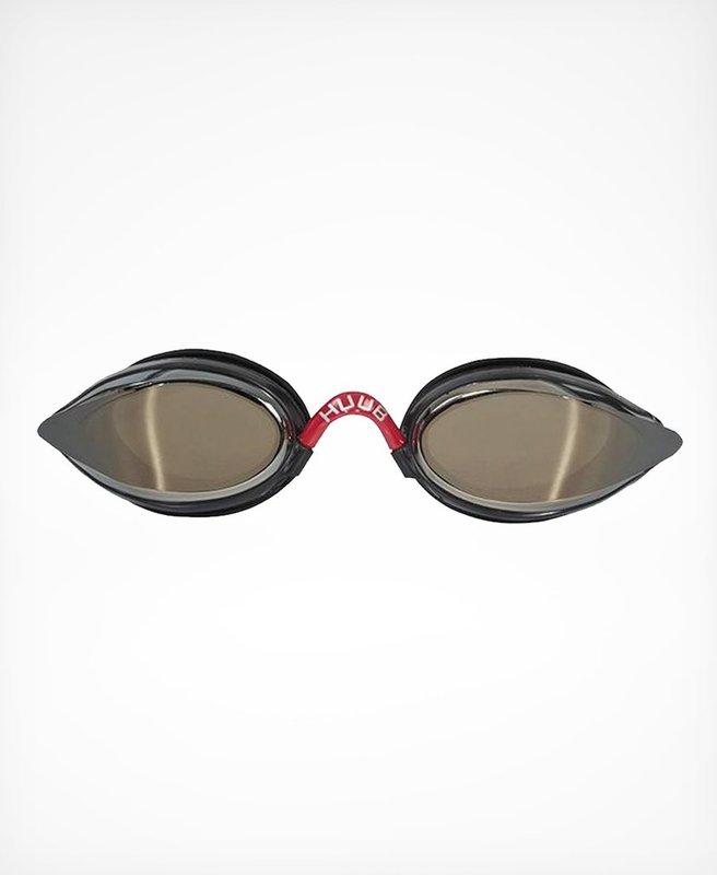Huub Brownlee Race Goggle - blk/rd Light Smoke