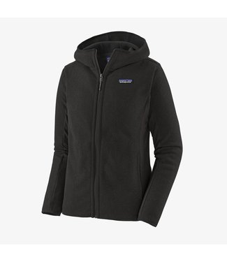 Patagonia W's LW Better Sweater Hoody Black L