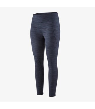 Patagonia W's Centered Tights Space Dye: Dolomite Blue L