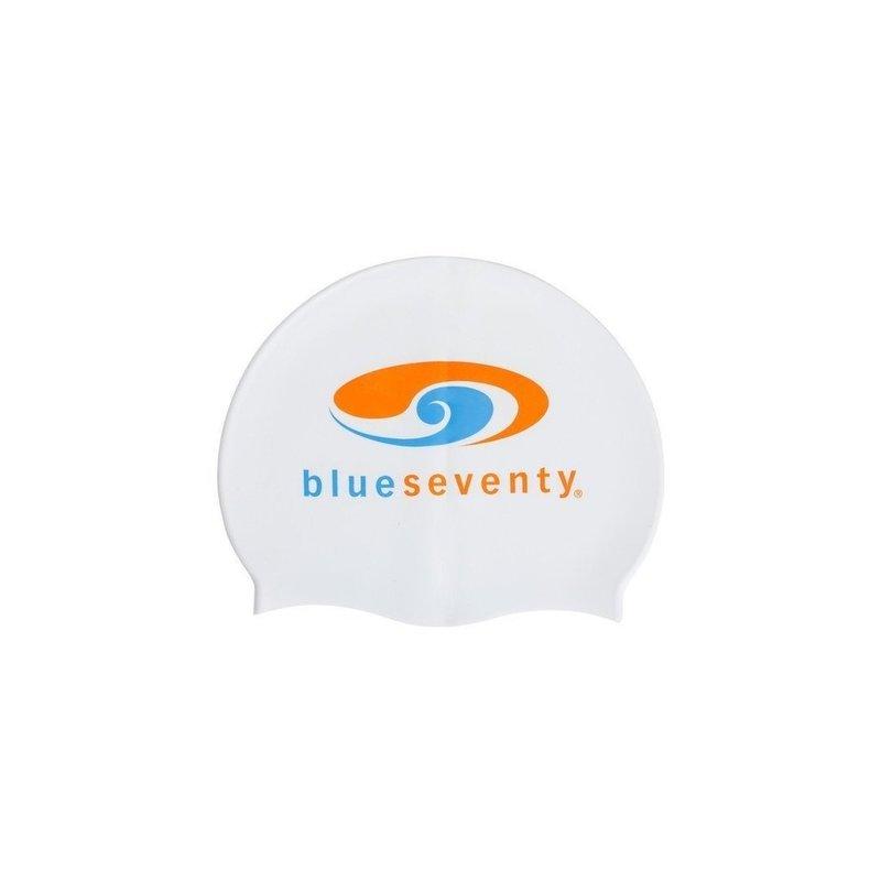 Blue Seventy White Silicone Cap