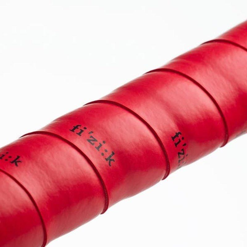 Fizik Terra - 3mm - Bondcush - Tacky - RED Bar tape