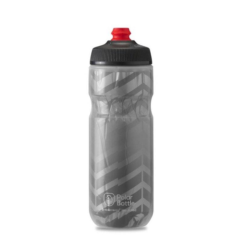 Polar Bottle Polar, Breakaway Insulated 20oz, Water Bottle, 591ml / 20oz, Charcoal/Silver