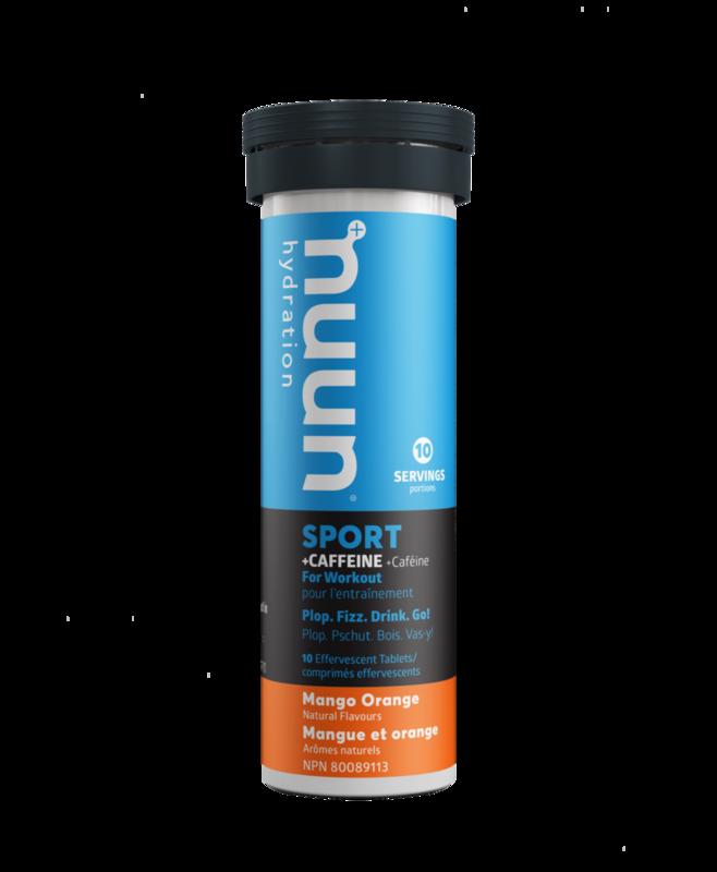Nuun Nuun, Sport with Caffeine, Drink Mix, Orange/Mango, single